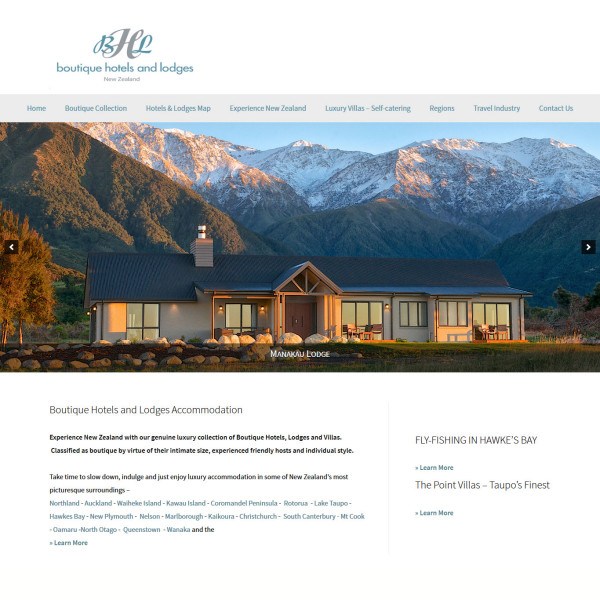 Boutique Hotels and Lodges accommodation